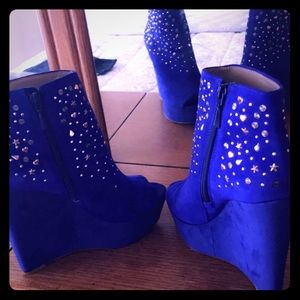 Royal Ankle Booties